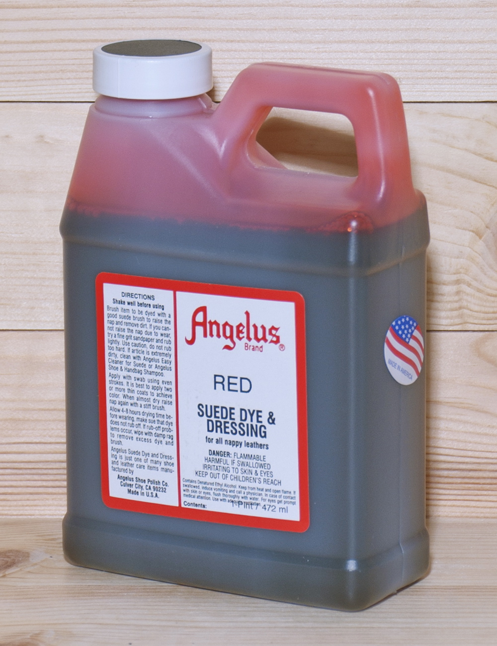 Also Available For More Detailed Work Are Angelus Dye Pens These Can Be Used To Reach Areas That T Reached With A Dauber Brush Or Cloth