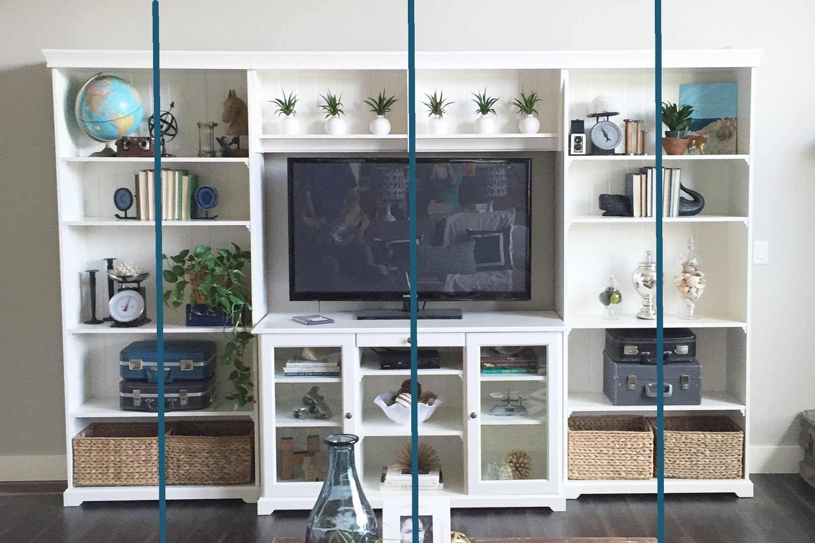 how to style a bookshelf by wwwjengallachercom liatorp bookshelf and entertainemtn - Styling Bookcases