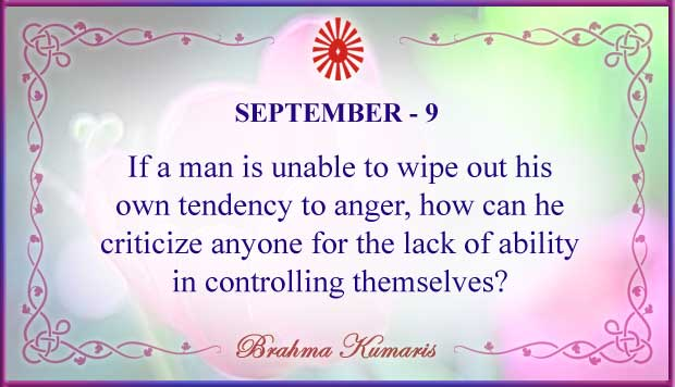 Thought For The Day September 9