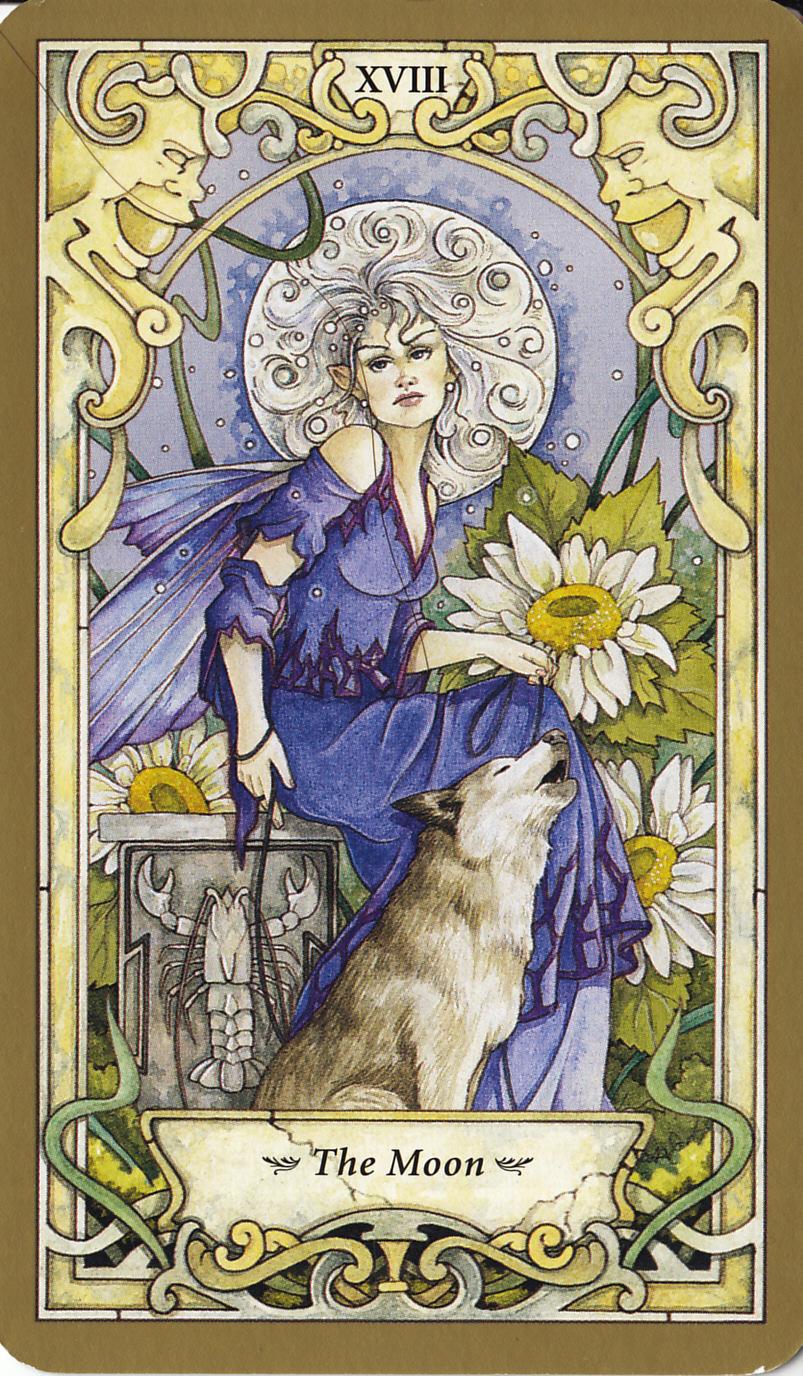 Mystic Faerie Tarot The World: Rowan Tarot: Mystic Faerie Tarot