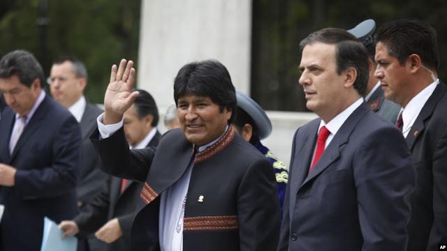 El canciller de México, Marcelo Ebrard, dijo el domingo 10 de noviembre de 2019 que el gobierno mexicano ha recibido 20 funcionarios