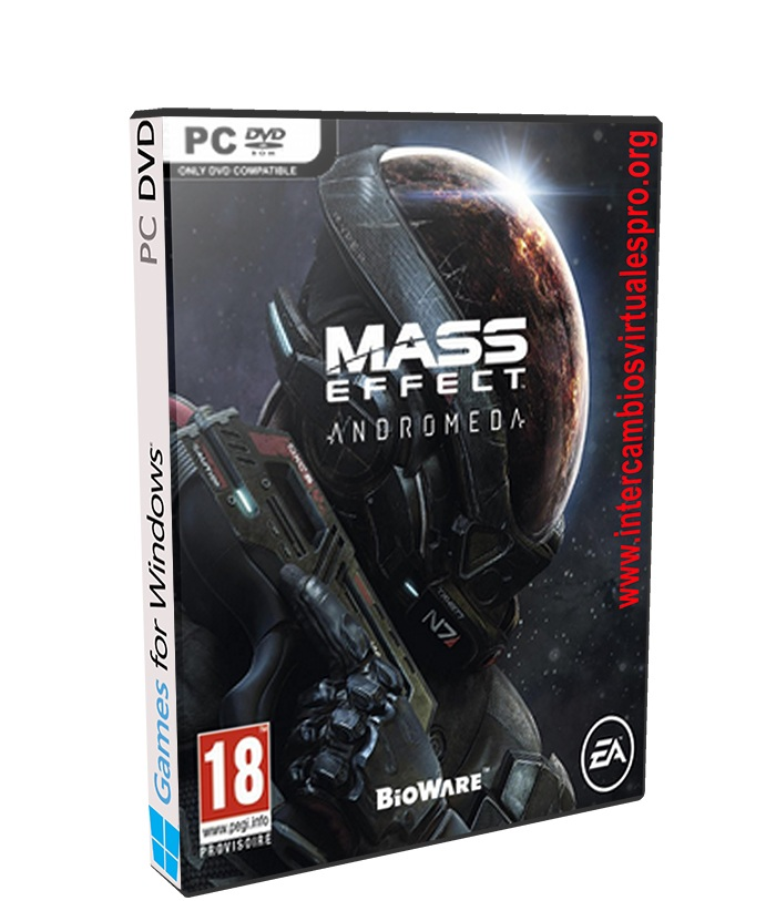 Mass Effect Andromeda poster box cover