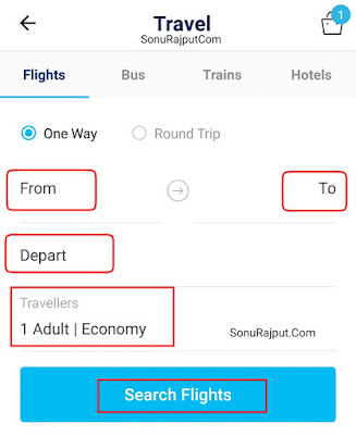 Paytm Se Flight Ticket Kaise Book Karte Hai