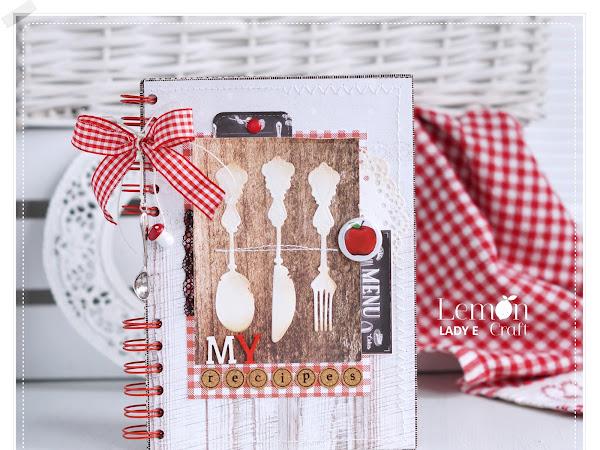 Delicious Handmade Recipe Book