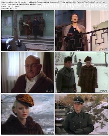 Capturas del último capitulo: Mussolini: la historia desconocida (TV) | 1985