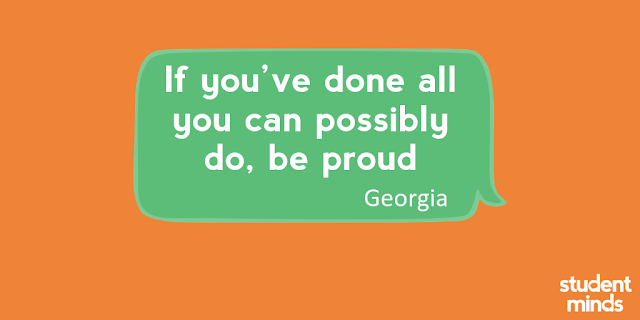 'If you've done all you can possibly do, be proud' - Georgia