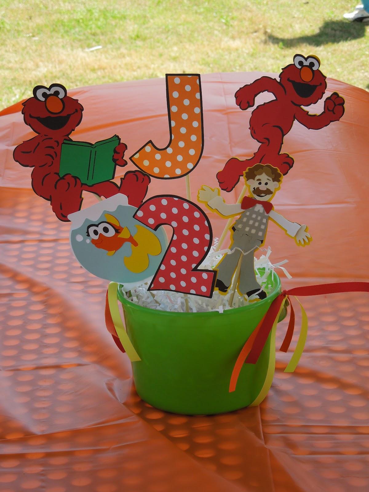 OCC Obsessive Compulsive Crafting Jacks 2nd Birthday Elmos World Sesame Street