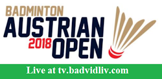 Austrian Open 2018 live streaming