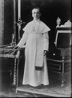 Pope Benedict XV's papacy lasted from 1914 until his death in 1922
