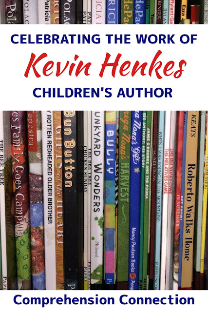 Celebrate the work of Kevin Henkes by using these wonderful books as mentor texts. Kevin Henkes' wonderful characters will ignite reading in your room. Check out the details in this blog post about this each unit.