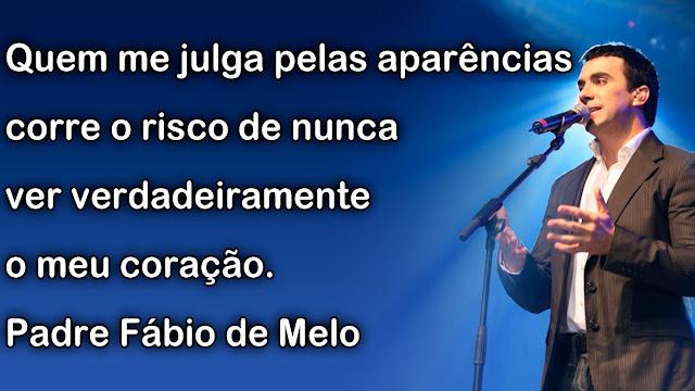 Mensagem Padre Fabio de Melo