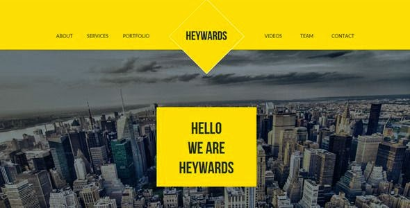 Heywards - Multipurpose Muse Template