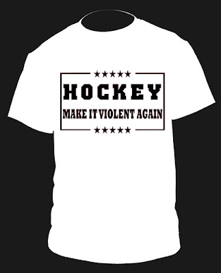 hockey violent shirt