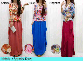 Gamis Spandex fit to L