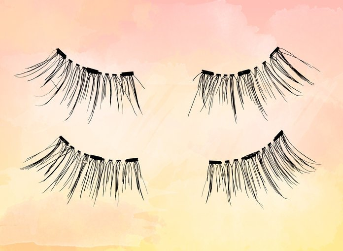 Magnetic Lashes; a Solution to the Damage of Gluey Lashes