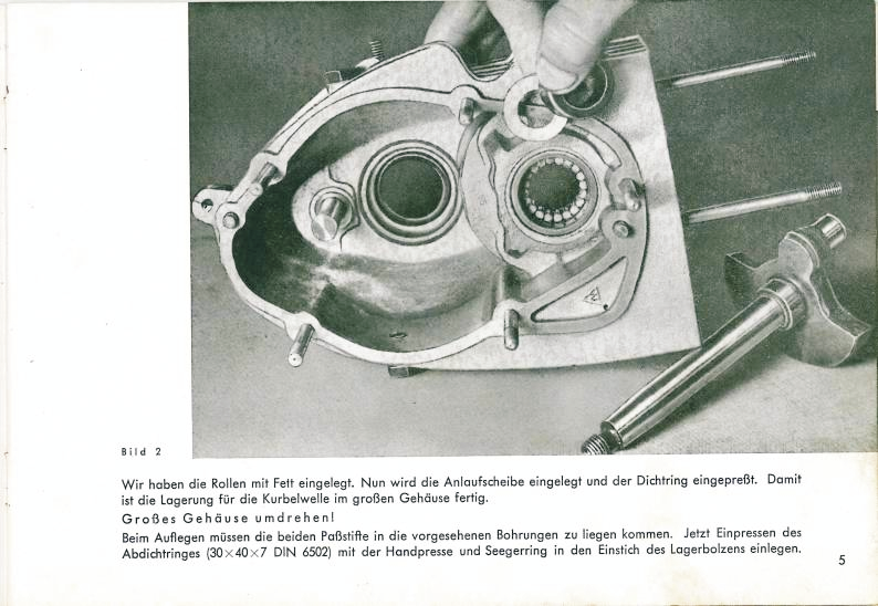 Riedel R100 Engine Assembly Manual