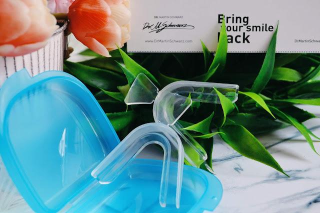 nakładki termokurczliwe Flexi trays, wybielanie zębów