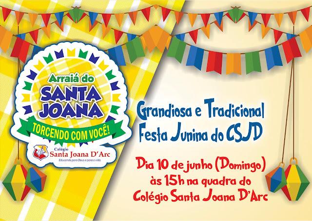 Tradicional festa junina!