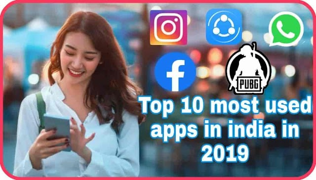 Top 10 most downloaded and used apps in India in 2019