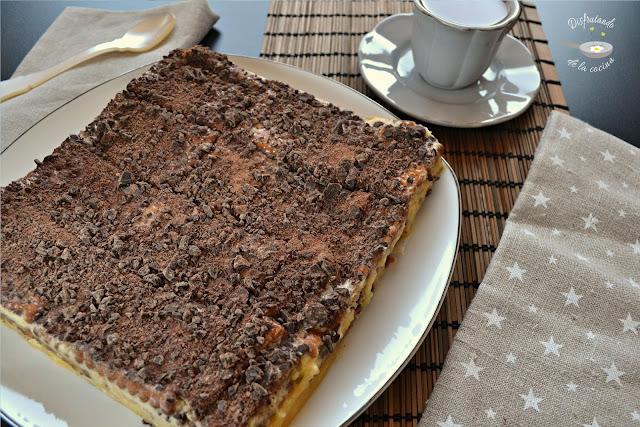 Pastel de chocolate y galletas o Pastel de Ana