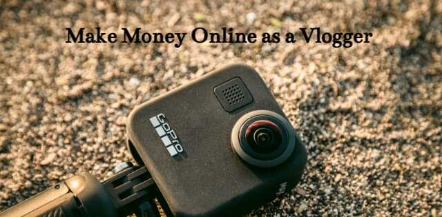 How to make money as a vlogger, go pro on carpet.