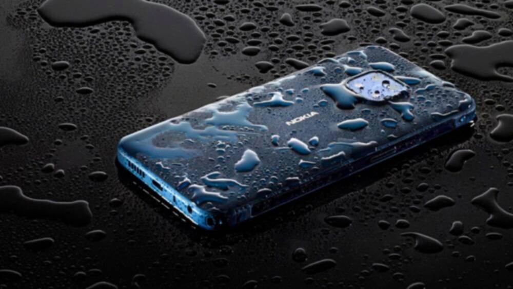 Nokia XR20 Leak Shows a Rugged Waterproof Design