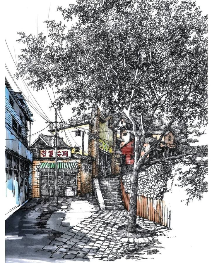 01-Local-shops-sketch_forum-www-designstack-co