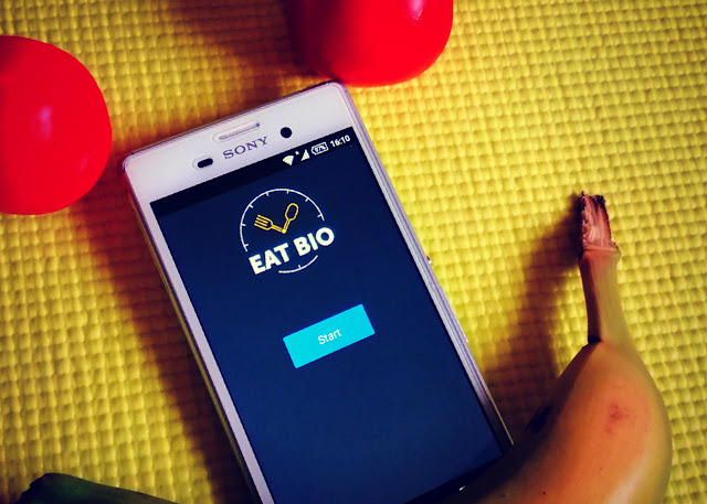 Eat Bio, Android app for healthy lifestyle