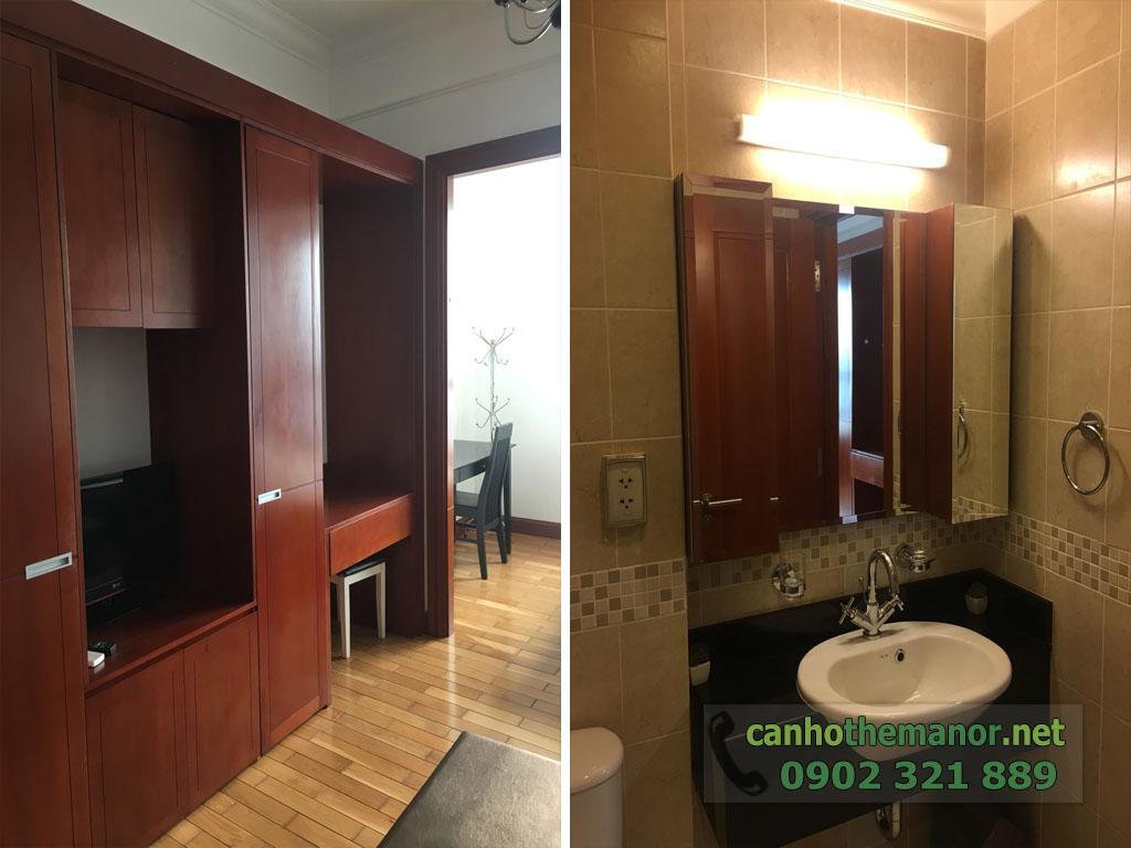 Studio cho thuê 38m2 The Manor quận Bình Thạnh chỉ $550 bao luôn phí - hình 2