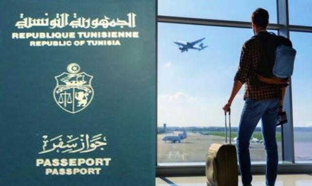 بـ 74 دولة دون تأشيرة: جواز السفر التونسي الأقوى في شمال إفريقيا
