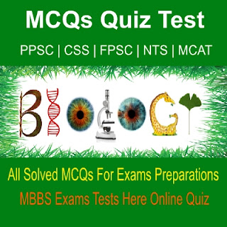 Solved Biology MBBS Exams Test Online Quiz Tests