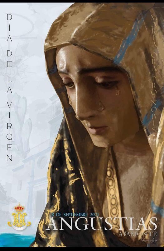 Cartel Virgen de las Angustias, Patrona de Ayamonte 2021