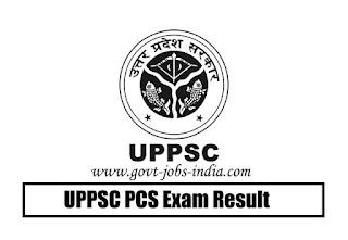 UPPSC PCS Exam Result