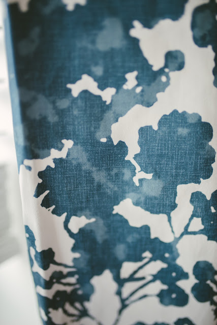 Exclusive Fabrics Fleur Cotton Printed Single Curtain Panel