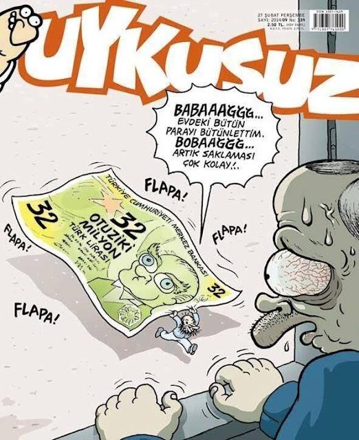 erdoğan para sıfırlama karikatür
