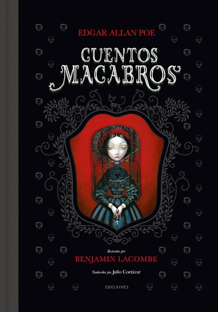 Benjamin Lacombe Portada del Libro Cuentos macabros I