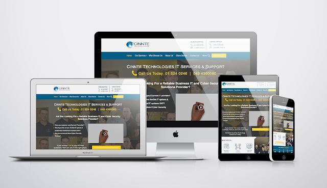 Cinnte Technologies Website