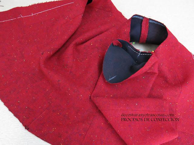 como aplicar una manga sastre a una chaqueta