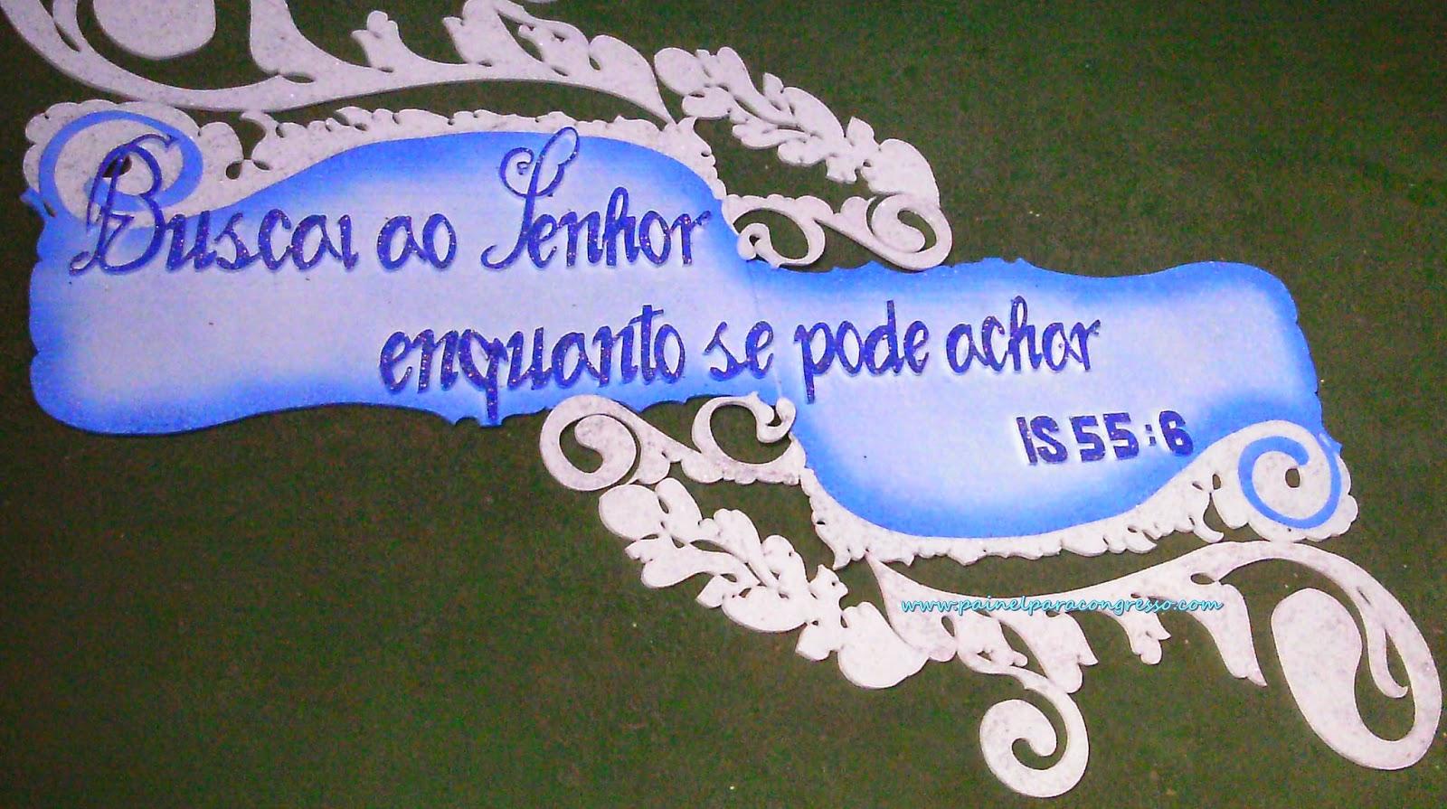 placa de isopor pintada