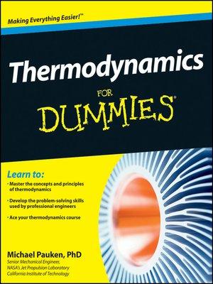 [PDF] Thermodynamics For Dummies Mike Pauken Ebook Download