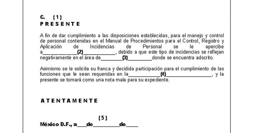 Documentos Oficio De Extrañamiento