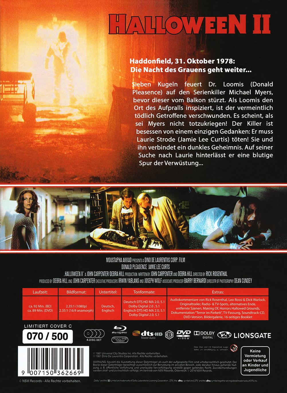 Cinextreme Reviews Und Kritiken Halloween Ii Das Grauen