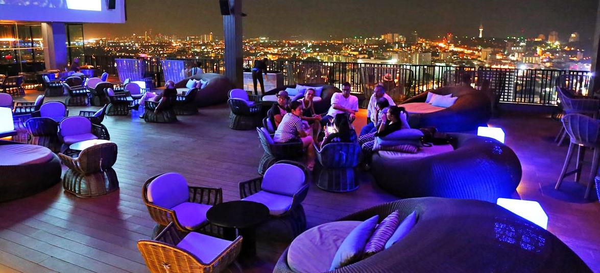 Bar ngoài trời dự án Tropicana Nha Trang