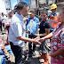 Bupati Rusma Yul Anwar dan Wabup Rudi Hariyansyah, Kunjungi Korban Kebakaran di Pasar Kambang