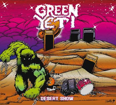 Green Yeti - Desert Show