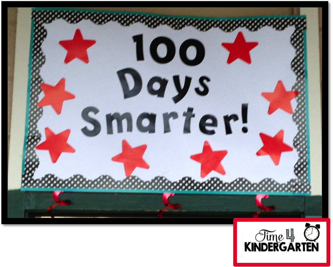 100th day banner, 100th day of school