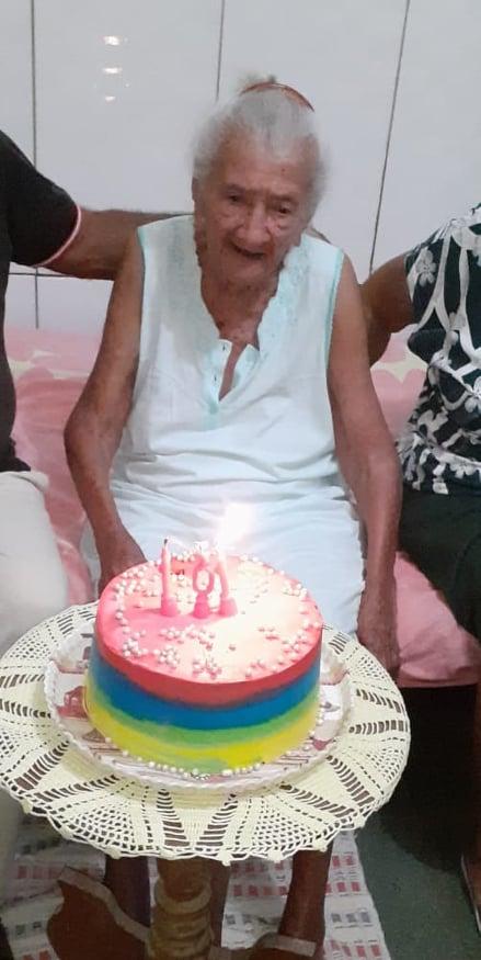 PERDA: Morre dona Isabel Castelo Branco, bisavó do vereador Tácio Lopes, aos 101 anos.