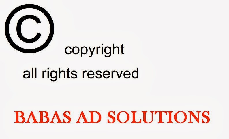 ALL COPY RIGHT RESERVED TO BABAS AD SOLUTIONS