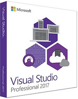 Visual Studio Professional 2017 poster box cover