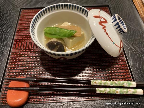 soup at Hotel Jogakura in Amori, Japan